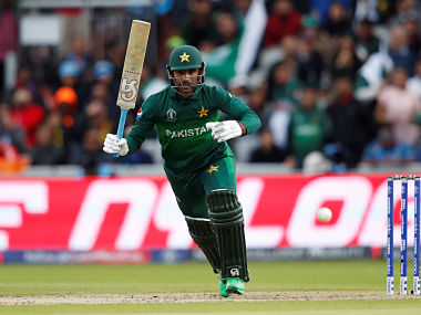 Fakhar Zaman scored 186 runs in the recently concluded ICC Men's Cricket World Cup. Reuters