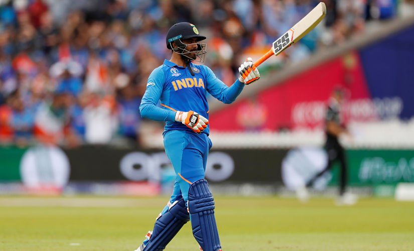 Ravindra Jadeja almost pulled off an incredible win for India in the semis against New Zealand. Reuters
