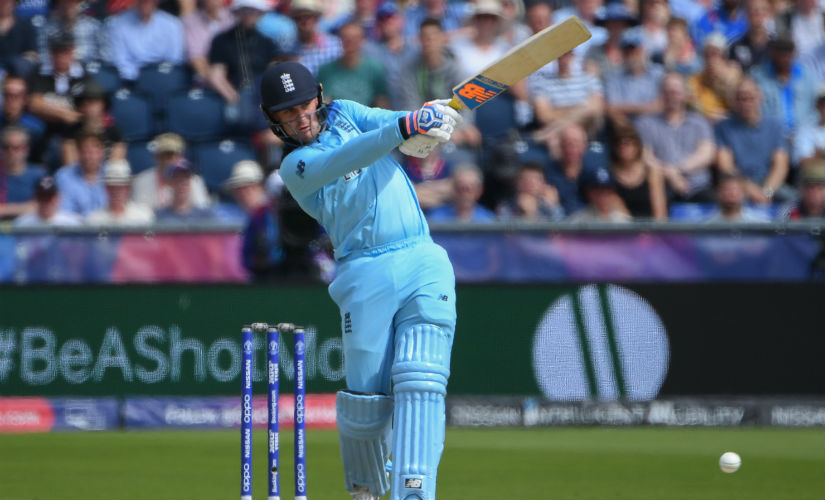 England's Jason Roy hit a quickfire 83 in the final. AFP