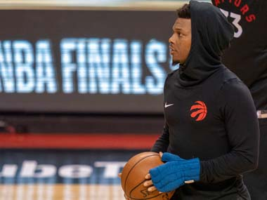 NBA Toronto Raptors Kyle Lowry undergoes surgery to repair damaged ligaments in left thumb