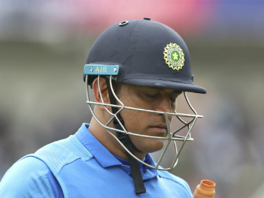 MS Dhoni during the ODI World Cup 2019. AP