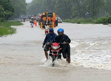 Nepal floods 28 dead 16 missing heavy rains to continue through weekend alerts weather office