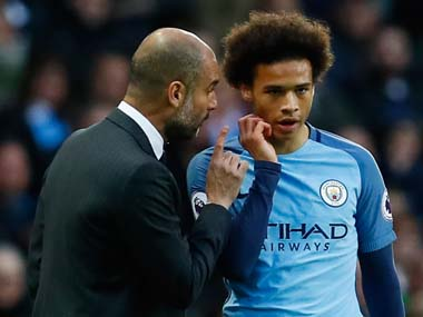 Premier League Manchester City boss Pep Guardiola issues Leroy Sane warning over interest from Bayern Munich