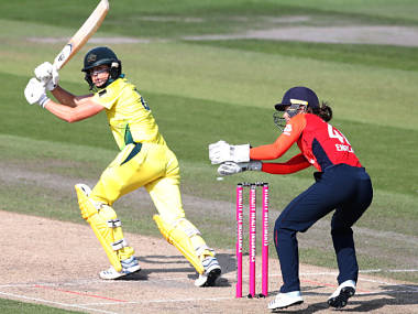 Cricket - Women's Ashes - Second IT20 - England v Australia - The 1st Central County Ground, Hove, Britain - July 28, 2019 Australia's Ellyse Perry in action Action Images via Reuters/Peter Cziborra - RC16A390EEF0