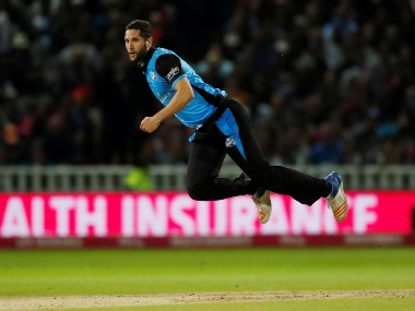 South African Wayne Parnell plays for Worcestershire Rapids in the English T20 Blast. Reuters