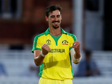 File image of Mitchell Starc. AFP
