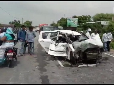 Unnao rape case victim critical two women kin dead after car collides with truck in Uttar Pradeshs Raebareli relatives allege foul play