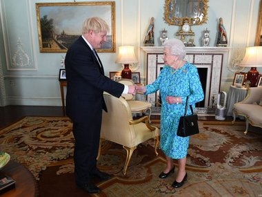 Boris Johnson takes over as British PM Theresa May says new govts success will be countrys success