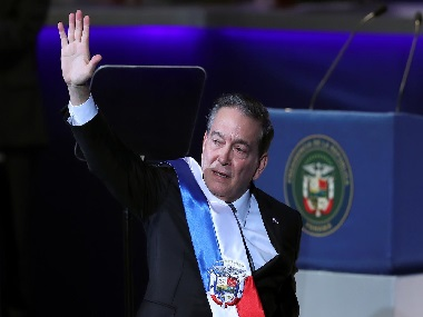 Laurentino Cortizo takes oath as president of Panama vows to curb corruption close wealth gap in isthmus nation