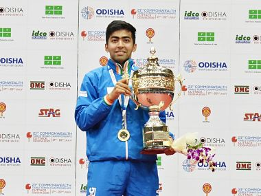 Commonwealth Table Tennis Championships Harmeet Desai Ayhika Mukherjee win mens and womens titles as India claim 7 golds