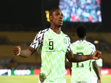 Africa Cup of Nations 2019 Tournament topscorer Odion Ighalo helps Nigeria beat Tunisia in thirdplace playoff