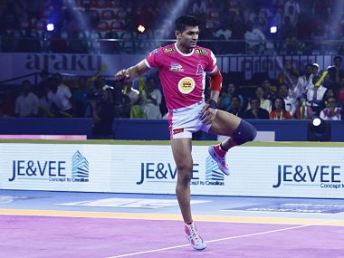 Pro Kabaddi 2019 Deepak Hooda shines as Jaipur Pink Panthers produce allround effort to beat U Mumba