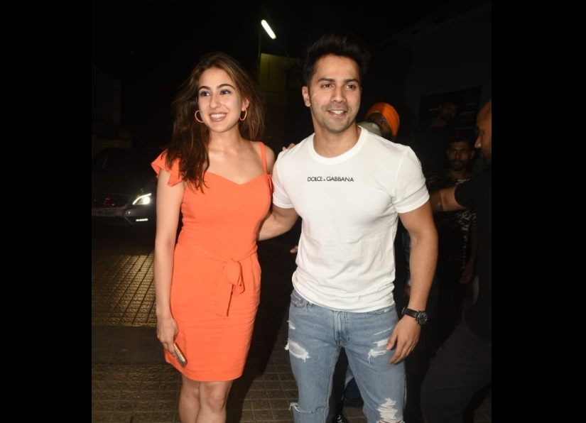 Coolie No 1 Sara Ali Khan Varun Dhawan to recreate Main Toh Raste Se song for reboot of Govindas film