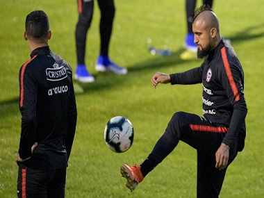 Copa America 2019 Chile determined to leave legacy as triple champions says midfielder Arturo Vidal