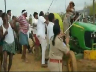 Mob attacks two forest department employees in Telangana village incident comes days after assault on woman officer