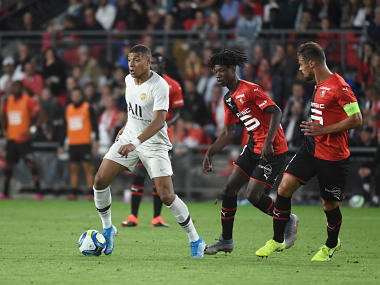 Ligue 1 Teenager Eduardo Camavinga shines in midfield for Rennes as PSG suffer shock defeat