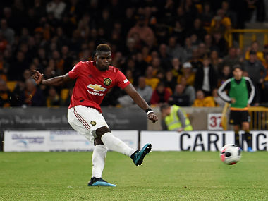 Premier League Manchester United boss Ole Gunnar Solskjaer refuses to blame Paul Pogba after penalty miss