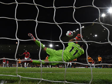 Premier League Wolves hold Manchester United after Rui Patricio saves Paul Pogbas secondhalf penalty