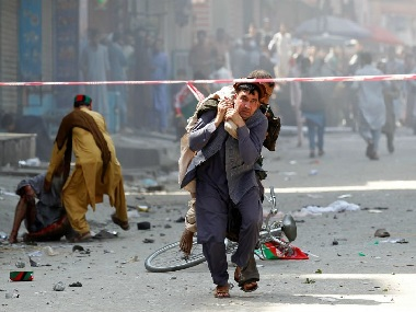 34 wounded in series of bombings in Afghanistans Jalalabad on countrys 100th independence day