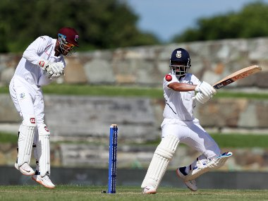 Ajinkya Rahane took India to 203/6 on Day 1 with a knock of 81 after they were reduced to 25/3. AP