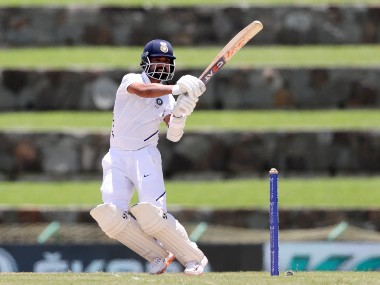 Ajinkya Rahane scored 81 and 102 in two innings of Antigua Test. AP