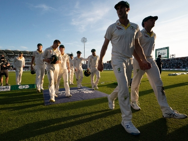 Going into fourth day, Australia need seven wickets to win third Test and retain the Ashes. AP