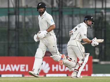 De Grandhomme, scoring 83 off 75 balls, and Watling, on 81, put together an unbeaten 113-run stand for the sixth wicket. AFP