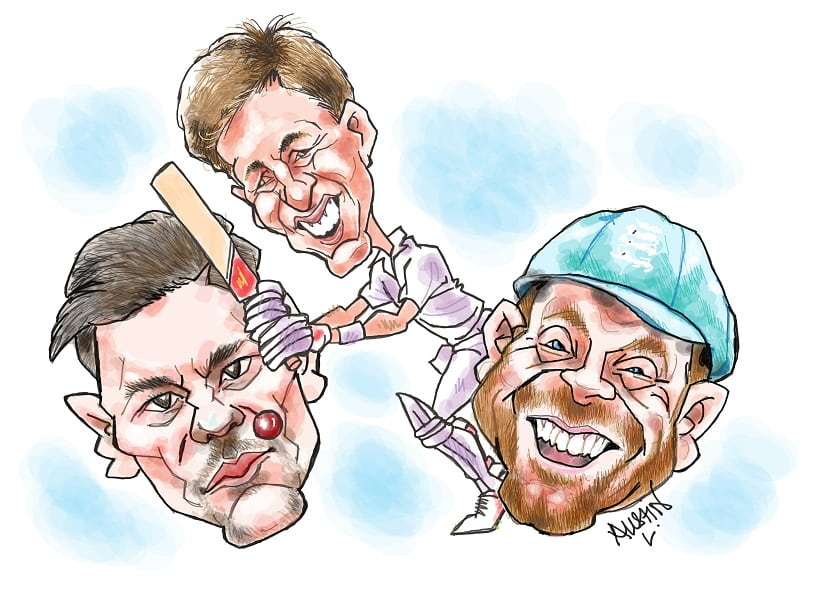 Can England's batting deliver at The Ashes 2019? Illustration courtesy Austin Coutinho
