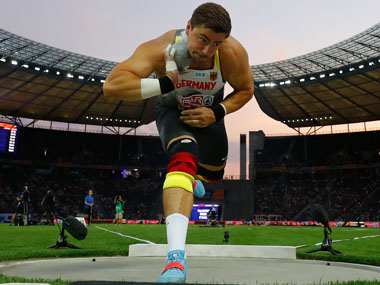 Athletics World Championships 2019 Twotime shotout champion David Storl set to miss out on tournament with back injury