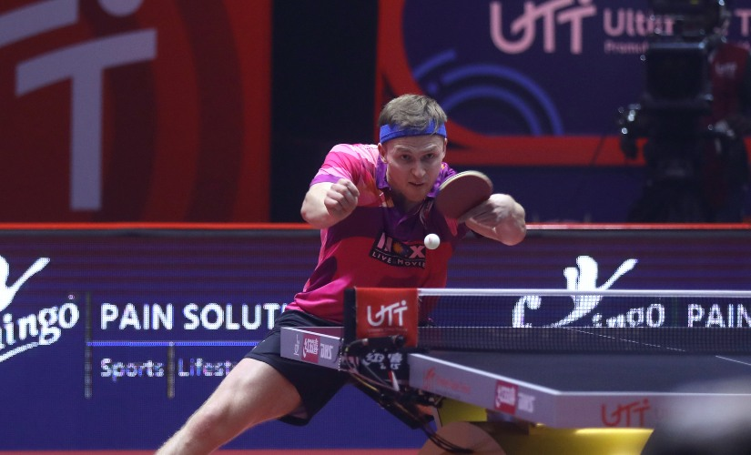 UTT 2019 Benedikt Duda Kirill Gerassimenko credit league for improvements in their game Matilda Ekholm predicts bright future for Indian table tennis