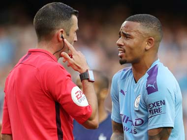 Premier League Manchester City held to draw by Tottenham following controversial VAR decision Arsenal Liverpool scrape through