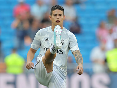 LaLiga Real Madrid midfielder James Rodriguez likely to miss Villarreal game after sustaining calf injury