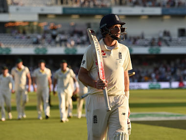 Joe Root restored a measure of batting pride for his side with an unbeaten 75. AFP