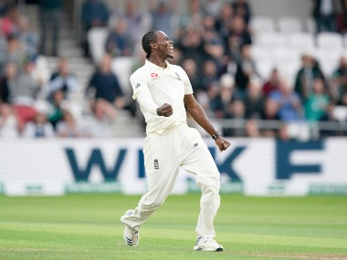 Jofra Archer's 6/45 helped England bowl Australia out for 179 on Day 1 of Leeds Test. AP