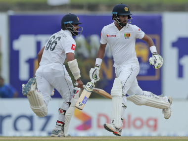 Openers Dimuth Karunaratne and Lahiru Thirimanne were batting on 71 and 57 respectively at stumps on Day 4. AP