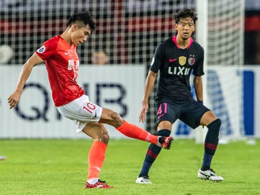 AFC Champions League holders Kashima Antlers play out goalless draw at Guangzhou Evergrande in quarterfinal first leg