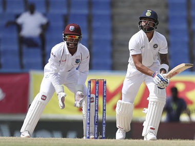Kohli brought up his half-century in the 55th over of the innings. AP