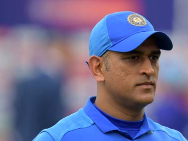 File image of MS Dhoni. AFP