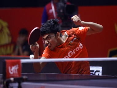 UTT 2019 Manav Thakkar bags mixed doubles reverse singles to clinch victory from jaws of defeat for U Mumba