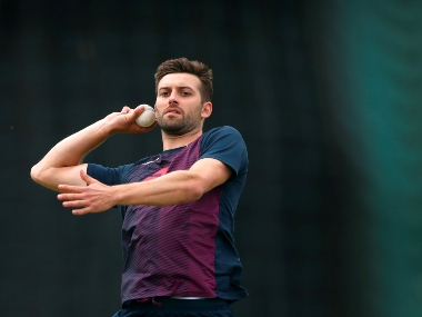 File image of Mark Wood. Reuters
