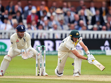 Australia's Marnus Labuschagne in action against England on the final day of the second Ashes Test. AFP