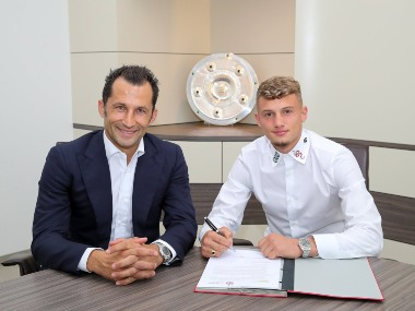 Bundesliga Bayern Munich sign France youth international Michael Cuisance from Borussia Moenchengladbach on fiveyear deal