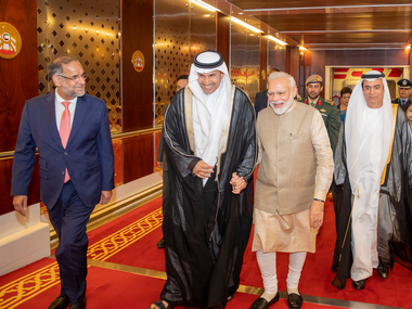 Narendra Modi awarded Order of Zayed by Abu Dhabis crown prince for boosting bilateral ties between India UAE