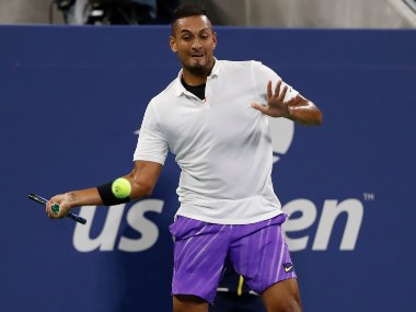 US Open 2019 Nick Kyrgios defeats Steve Johnson in straight sets to progress to second round