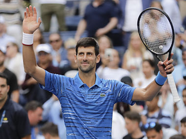 US Open 2019 Defending champion Novak Djokovic eases into second round with straight sets win over Roberto Carballes Baena