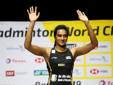 World champion PV Sindhu returns to heros welcome promises to work harder for more medals