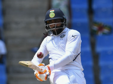 Jadeja struck 58 off 112 deliveries and shared a crucial 60 runs with Ishant Sharma (19) for the eighth wicket. AFP