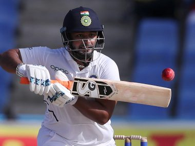 Rishabh Pant has recently faced criticism for his poor shot selection. AP