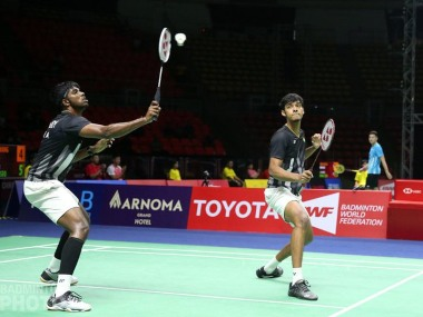 China Open 2019 Satwiksairaj RankireddyChirag Shetty lose to top seeds Marcus Gideon and Kevin Sukamuljo in semifinal