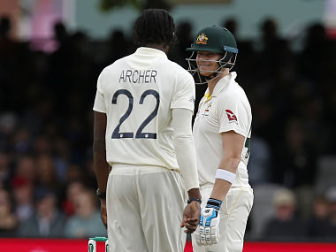 Jofra Archer vs Steve Smith was one of cricket's great duels over, its memory destined to forever live on forever. Ian Kington/AFP
